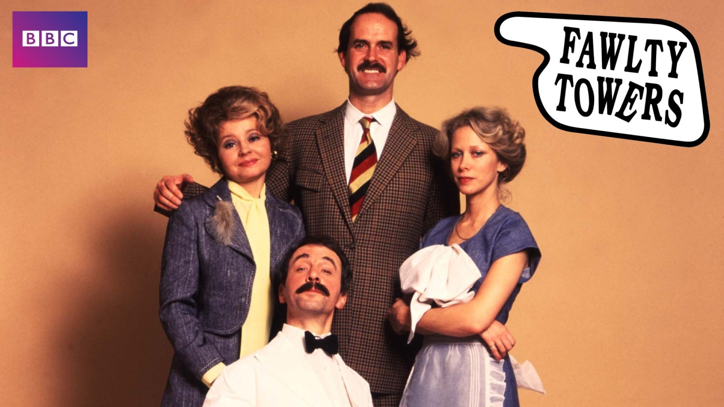 Controlling wife Sybil Fawlty