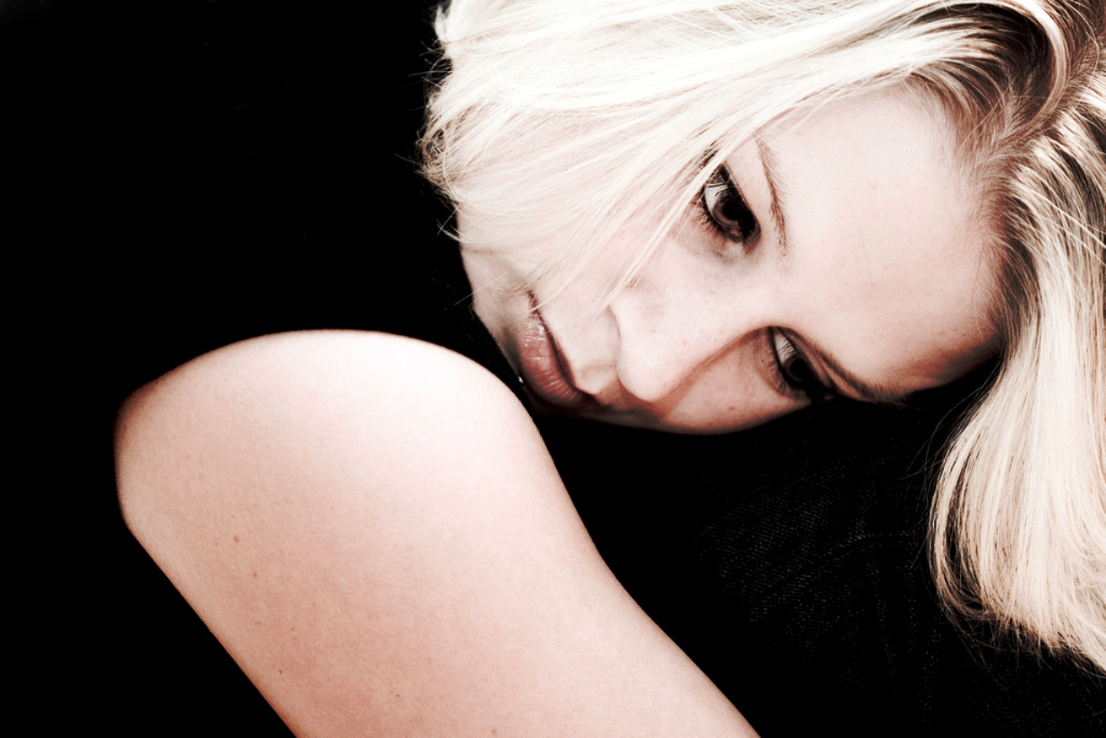 Codependent woman suffering from dysthymia