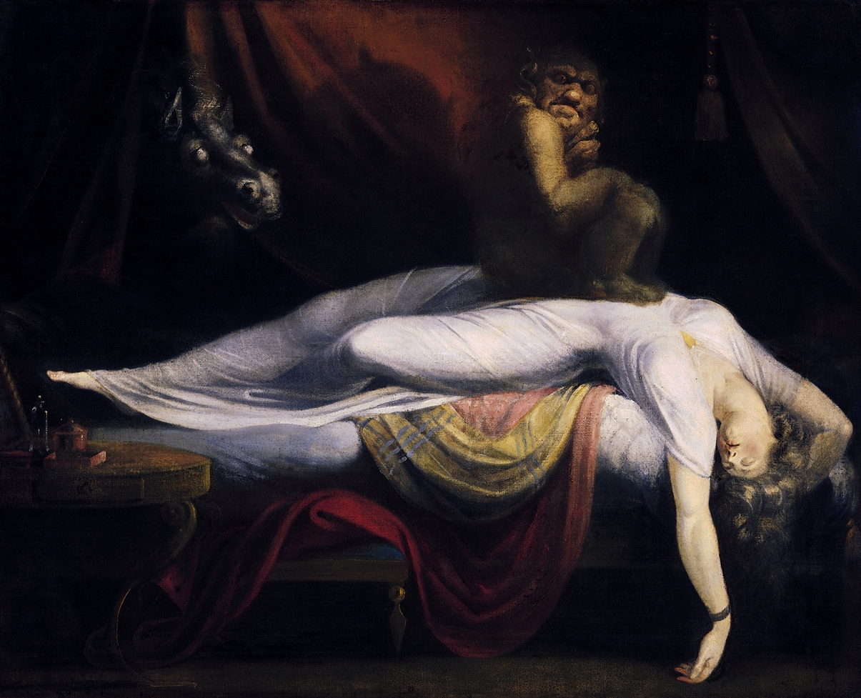 John Henry Fuseli-The Nightmare