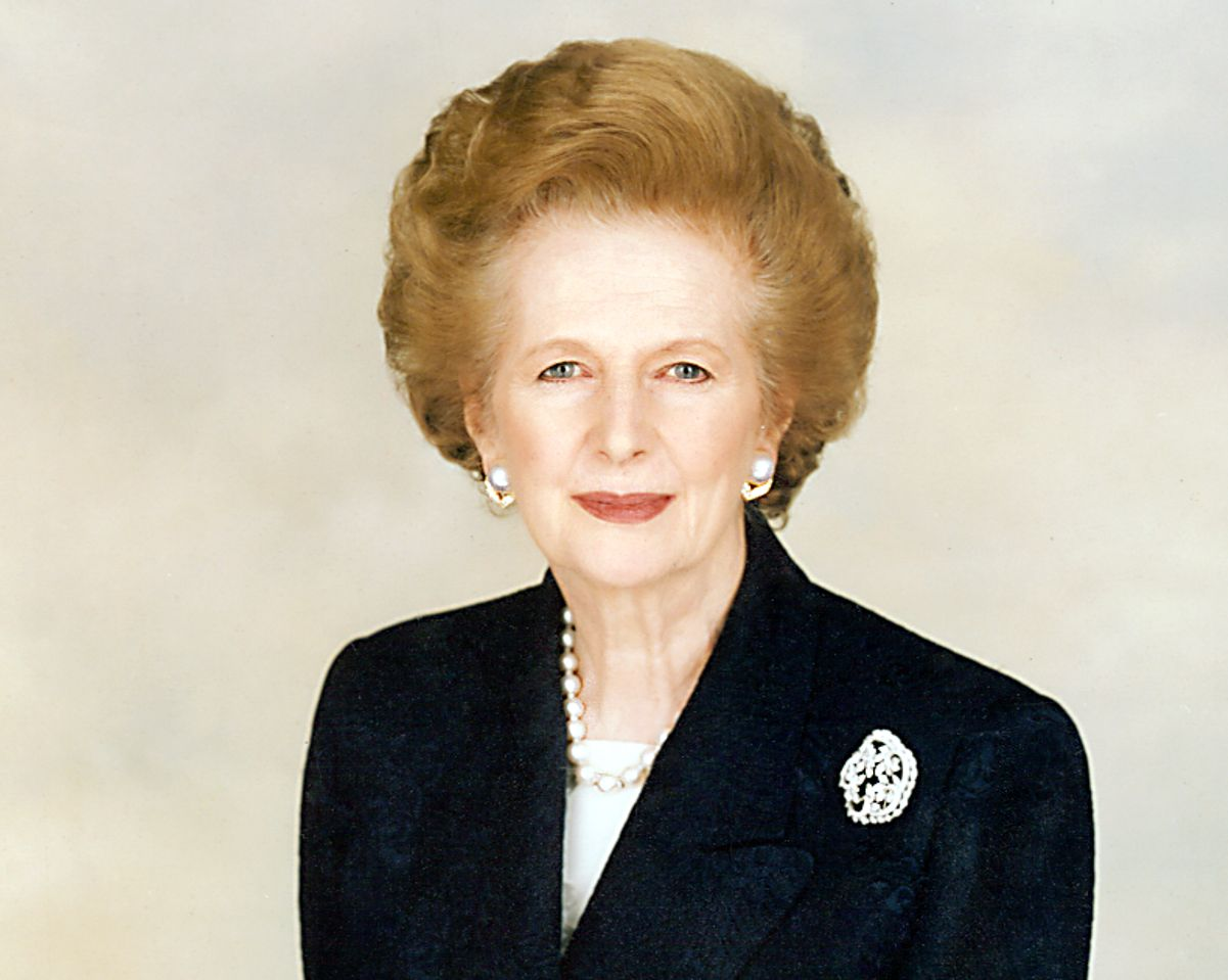 Cold hearted Margaret Thatcher