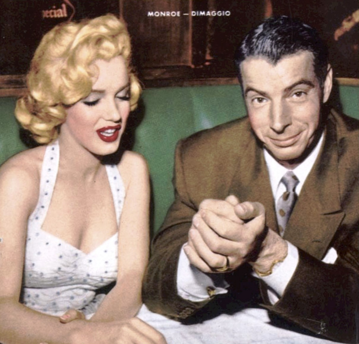Did Marilyn Monroe and Joe DiMaggio have a good marriage