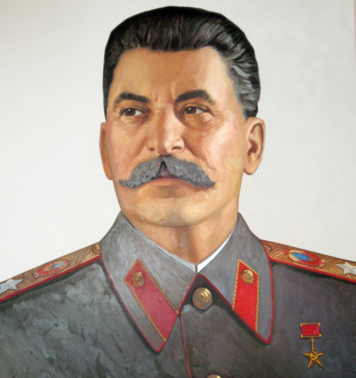 Cold hearted Joseph Stalin